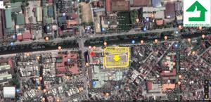 Vị trí dự án Thành Công Tower tại TP Thái Bình