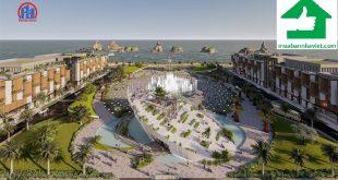 Quảng trường biển trung tâm dự án